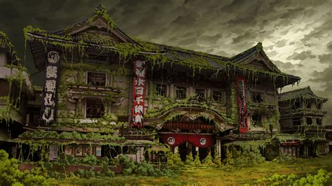 ruin tokyo post apocalyptic japan wallpapers