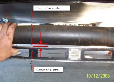 Why Do Boat Trailer Tires Wear On The Inside by Tires Not Level On 88 T1550 Sunline Coach Owner