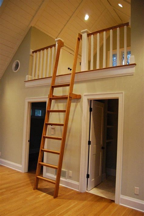 folding loft ladder home decor stairs diy