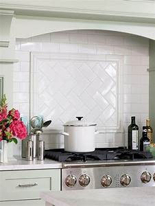white glass subway tile contemporary kitchen backsplash With kitchen cabinets lowes with large sun wall art