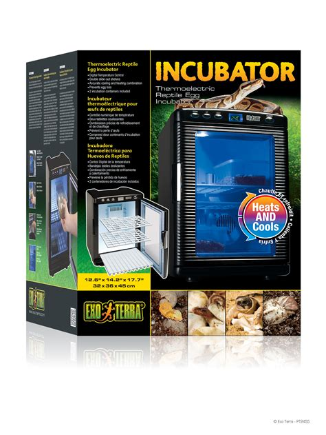 exo terra incubator incubateur thermo 233 lectrique pour