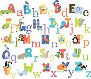 elephant wall decal animal alphabet baby nursery very With nursery letter decals