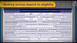 How To Fill An Emirates Nbd Application  U0637 U0631 U064a U0642 U0629  U062a U0639 U0628 U0626 U0629  U0637 U0644 U0628 U0627 U062a