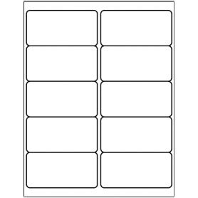 Avery 18663 Template by Templates Shipping Label 10 Per Sheet Avery