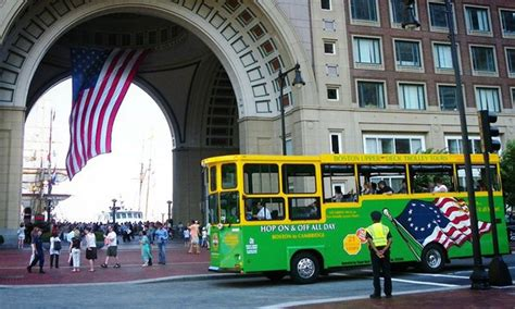 Boston Deck Trolley Tours Groupon by Boston Tours In Charlestown Ma Groupon