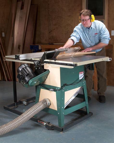 capture tablesaw dust popular woodworking magazine