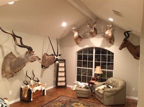 trophy room pictures page  hunting