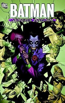 batman jokers asylum  jason aaron