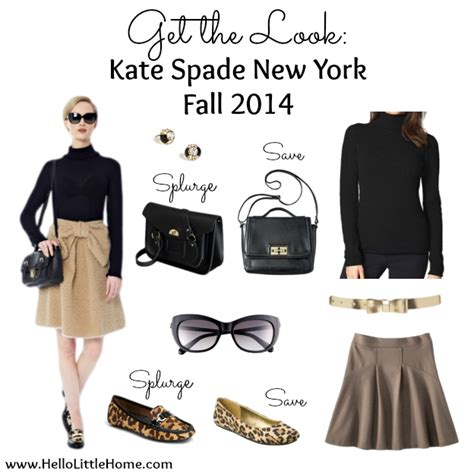 Get The Look Kate Spade New York Fall 2014