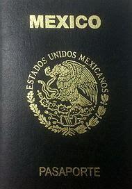mexican passport wikipedia
