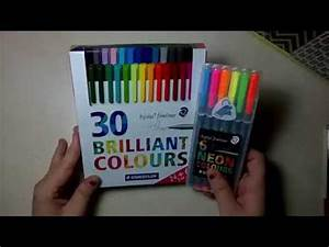 Review Staedtler Brilliant Colours Neon Fineliner