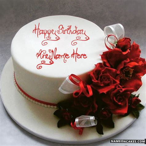 Best Romantic Birthday Cake Design For Lover With Name