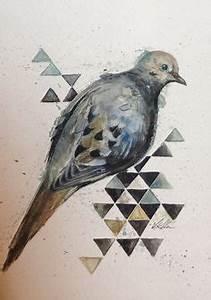 Original Pencil Drawing Bird Dove Sketch | Dove sketches ...