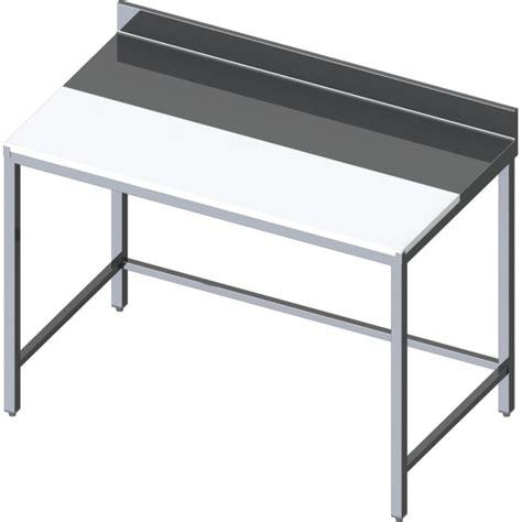 planche a decouper inox table de d 233 coupe mixte inox et poly 233 thyl 232 ne centrale ou adoss 233 e profondeur 700mm
