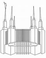 Temple Coloring Dc Washington Sheets sketch template