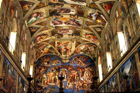 Painted The Ceiling Of The Sistine Chapel In Rome by Visual Arts Classrooms Around The World