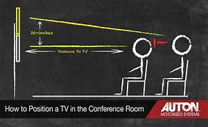 How to Position Your TV in a New Conference Room – Auton