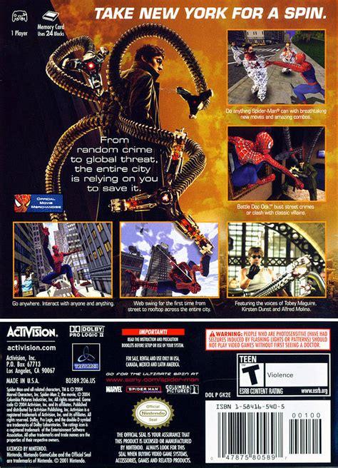 spider man  urare rom iso   gamecube