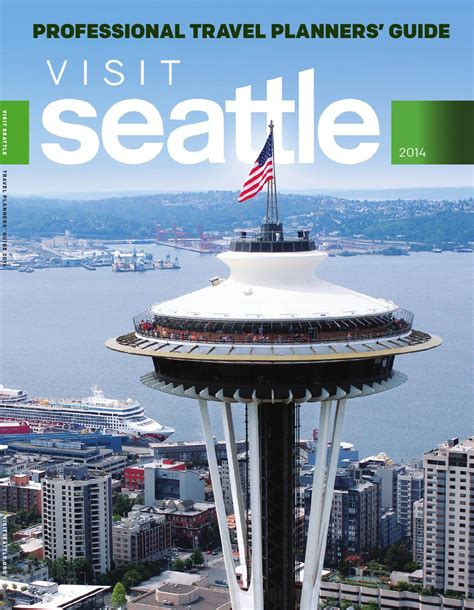 seattle visitors bureau visit seattle travel planners 39 guide 2014 by sagacity