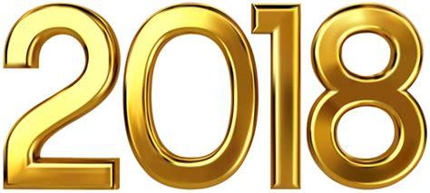 2018 Gold Clip Art Image