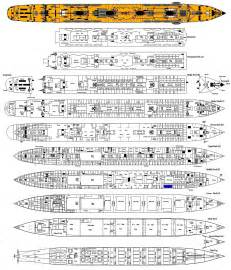 rms titanic page three her full deck plan