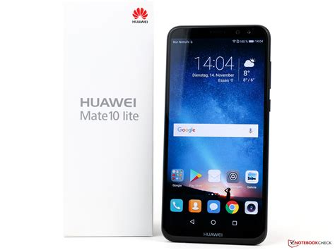 check and mate huawei mate 10 lite smartphone review notebookcheck net