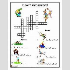 Esl, English Vocabulary, Printable Worksheets, Sports, Olympic Games  Sport  Sports Crossword