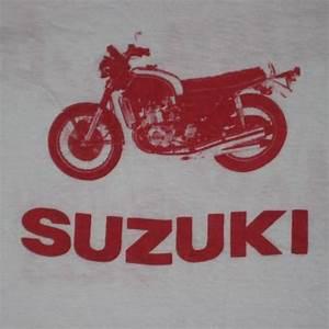 T Shirt Suzuki : vintage 70s suzuki motorcycle atlanta shop t shirt ~ Melissatoandfro.com Idées de Décoration