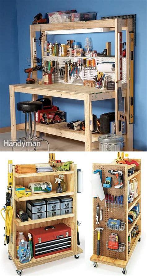 great ways  easily organize  workshop  craft