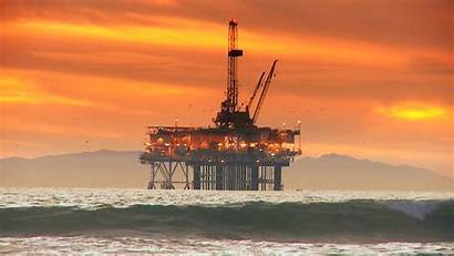 Oil Drilling Offshore Rig Gas Wallpapers Production