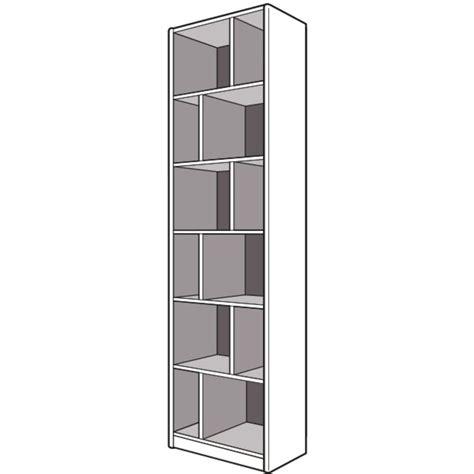 caisson de terminaison h 226 x p 50 cm pour dressing espace rangements