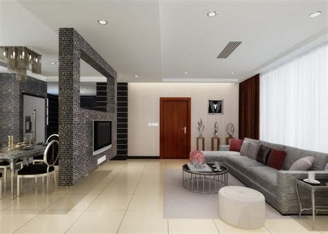 Trennwand Wohnzimmer Esszimmer by Living Room And Dining Room Partition Designs In Kerala