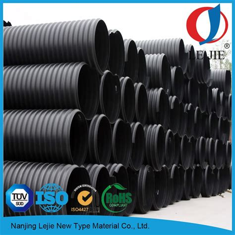 drainage pipe cost hdpe plastic large diameter pe100 corrugated perforated drain pipe price buy drain pipe price