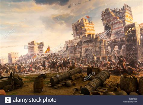 siege constantinople siege of constantinople stock photos siege of