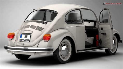 Volkswagen Beetle 2003 by Volkswagen Beetle 2003 Ultima Edicion 3d Model Max Obj 3ds