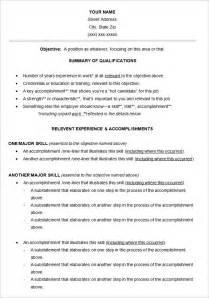 Resume Sle Templates Functional Resume Template 15 Free Sles Exles Format Free Premium Templates