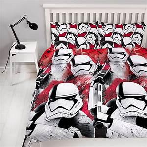 Star Wars Vorhänge : star wars episode viii trooper bettbezug set kinder wende ~ Lateststills.com Haus und Dekorationen