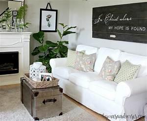 Ektorp Sofa Ikea : a brighter look with an white ikea ektorp sofa hymns and ~ Watch28wear.com Haus und Dekorationen