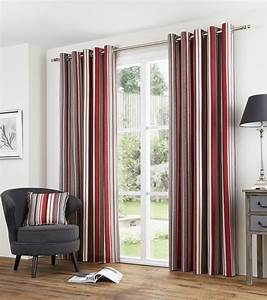 Gardinen Rot Grau : gestreift rot grau liniert 100 baumwolle vorh nge ringaufh ngung 7 gr en ebay ~ Markanthonyermac.com Haus und Dekorationen