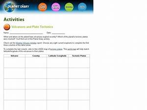 Volcanoes And Plate Tectonics Interactive For 6th