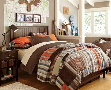 Orange And Brown Bedroom Ideas, Tan And Brown Bedroom