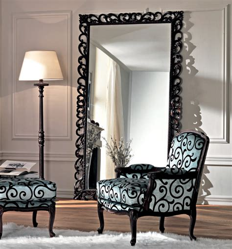 Mirror Framed Floor Mirror by Style Your Home With Large Floor Mirrors