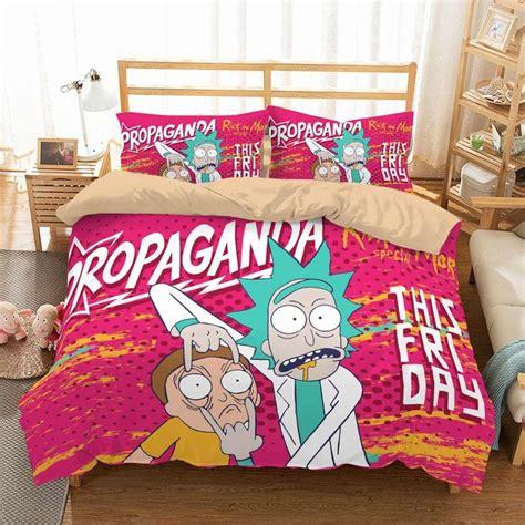 Permalink to Rick And Morty Bed Sheets Ebay