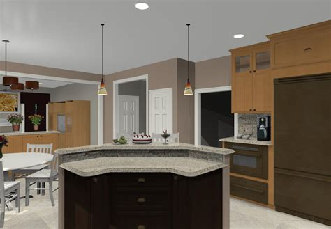 large kitchen islands different island shapes for kitchen designs and remodeling
