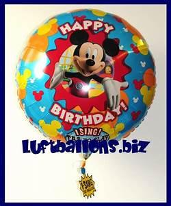 Happy Birthday Maus : happy birthday musikballon folien luftballon mit micky maus singender ballon lu musik ~ Buech-reservation.com Haus und Dekorationen