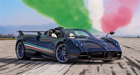 New Pagani Huayra Tricolore Pays Tribute To Italy's Frecce ...