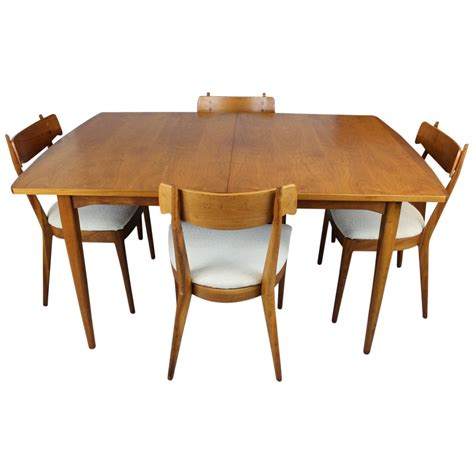 kipp stewart dining table and chairs for drexel at 1stdibs