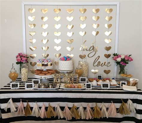 Black And Gold Baby Shower by Prettiest Baby Shower Baby Theme Hearts And Black