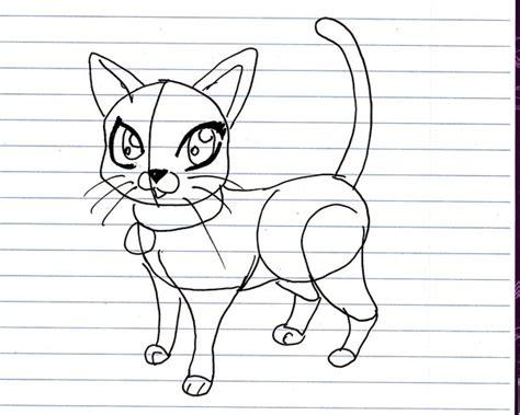 draw  cartoon cat  xxerindragonxx  deviantart