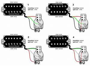 Seymour Duncan Single Coil Pickup Wiring Diagram Seymour